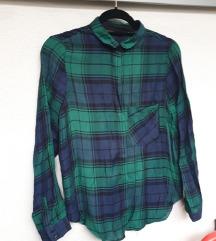 ZARA zelena karirana košulja