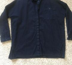 Monki tamnoplava traper košulja vel 36-40