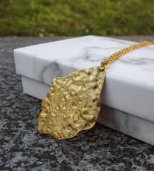 SNIŽENO-Mjedena ogrlica BAILEY