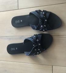 Papuče kožne nove 38