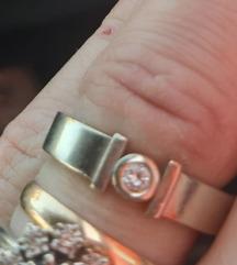 Prsten ZLaTO i briljant