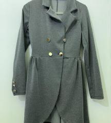 Sivi sako/haljina