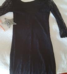 Mala crna haljina s čipkom