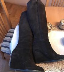 Hilfiger wedge čizme od velura