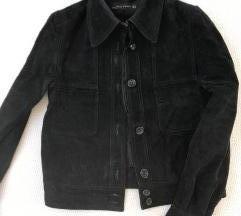SADA 70KN! --- Zara jakna od prave brušene kože