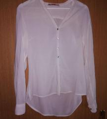 Bijela košulja od viskoze