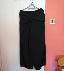 svečane široke hlače sa mašnom M-XL