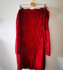 Amisu crvena haljina