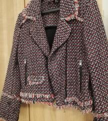 Zara boucle jakna sako M