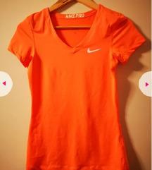 Nike Pro ženska majica vel S narančasta