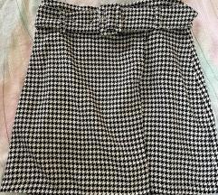 Suknja pepita uzorka