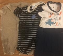 LOT Baby romperi 62