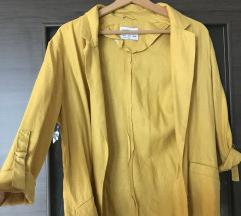 Nova Bershka lanena jaknica