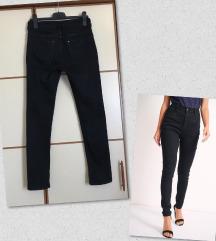 H&M high waist traperice (55 kn)