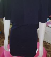 NOVO! Tamnoplava haljina uni veličina