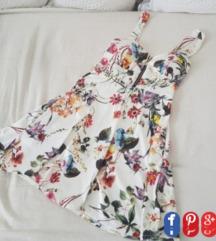 Bijela cvijetna haljina