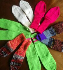 Vunene čarape, univerzalna vel, od 37 do 41