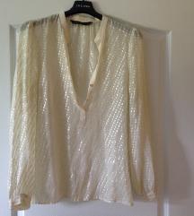 ZARA ljetna šljokasta prozirna majica