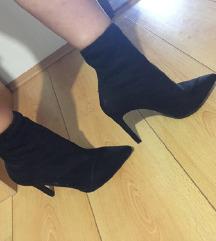 Stiletto sock gleznjace cizme