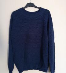 Tamnoplavi pulover