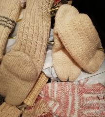 Pletene čarape, Pletenje