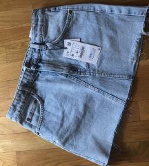 Zara asimetrična suknja vel.M