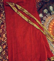 duga suknja na vezanje od tibetanskog pamuka