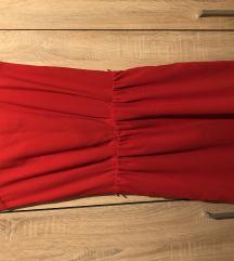 Ženska crvena haljina
