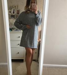 Zara knit haljina s biserima