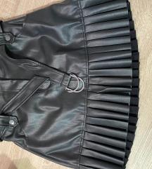Kožna suknja - ZARA