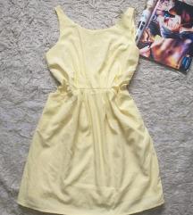 H&m žuta haljinica