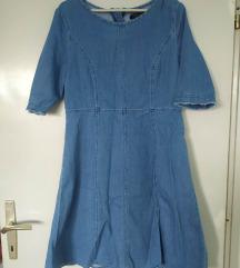 Jeans traper haljina