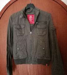 Esprit sportska jakna maslinasto zelene boje