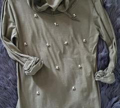 Novo majica s perlama+šal
