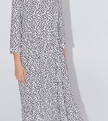 zarina točkasta haljina