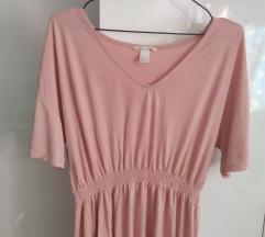 H&M roza haljina