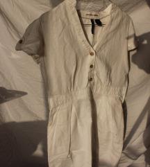 Lagana bijela haljina