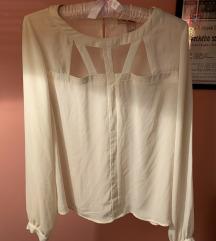 Forever 21 bijela krem košulja bluza