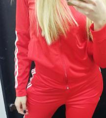 Adidas crvena trenerka