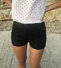 Amisu kratke kožne hlače S