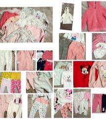 Lot odjeće za djevojčice