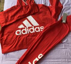 Adidas komplet (hoodie & tajice)