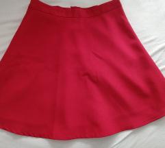 crvena skater suknjica