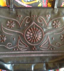 Mala kožna Sisley torbica