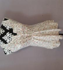 cvjetasta haljina bluza