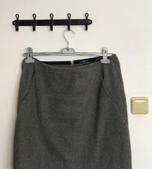 Siva mekana tom tailor suknja
