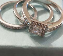 Set od 3 prstena veličina 18