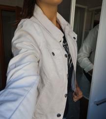 bijela, jeans jaknica