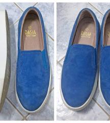 Dasia - slip-on koznate cipele - 37 / 38 (24 cm)
