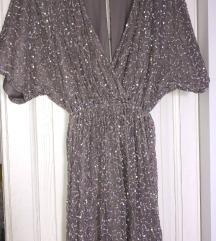 ASOS kratka haljina na šljokice